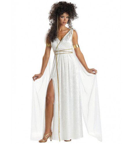 Griekse Godin Vrouw Kostuum