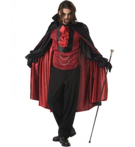 Graaf Bloeddorst Vampier Man Kostuum
