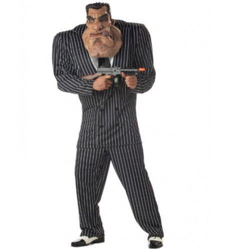 Gangster Bendelid Man Kostuum