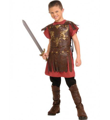 Gaius Gladiator Jongen Kostuum