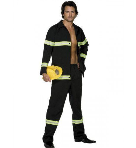 Sexy Brandweerman Komt Je Redden Kostuum