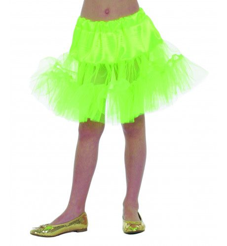 50s Petticoat Lang Groen