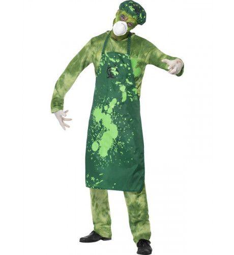 Biohazard Gevaarlijke Stoffen Pak Man