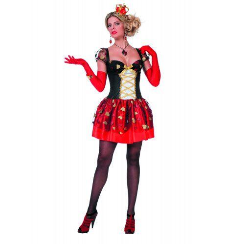 Burlesque Spannende Hartjesjurk Vrouw