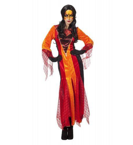 Angelica De Priesteres Fire Vrouw Kostuum