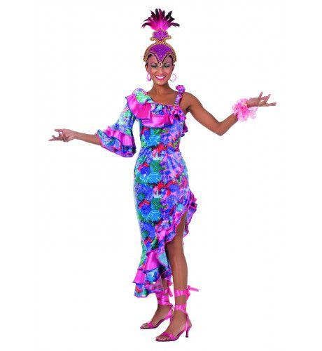 Curacao Carnaval Caribbean Jurk Vrouw
