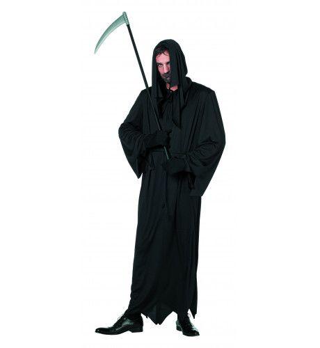 Grimmige Zwarte Dood Man Kostuum