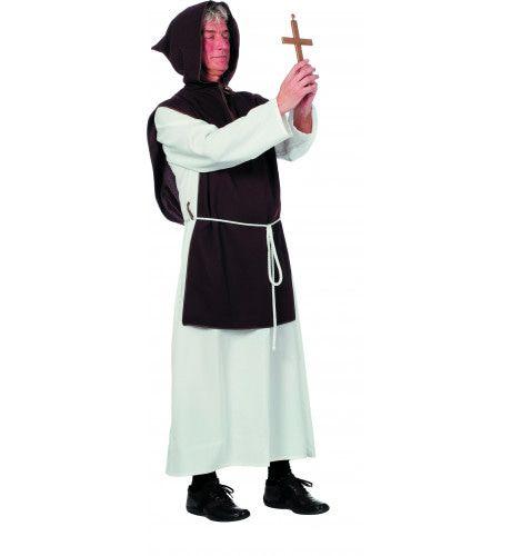 Monnik Vader Peter Man Kostuum