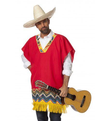 Poncho Mexican Ay Ay Ranchero Man