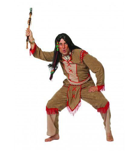 Ugh-Ugh Indiaan Hiawattha Man Kostuum
