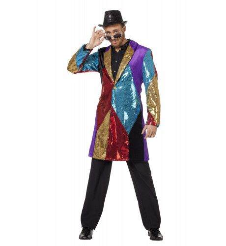 Showmaster Multi Jas Heer Man Kostuum