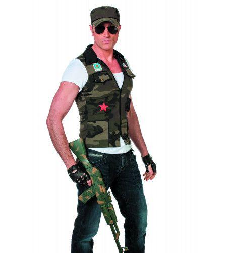 Hot Army Jake Man Kostuum