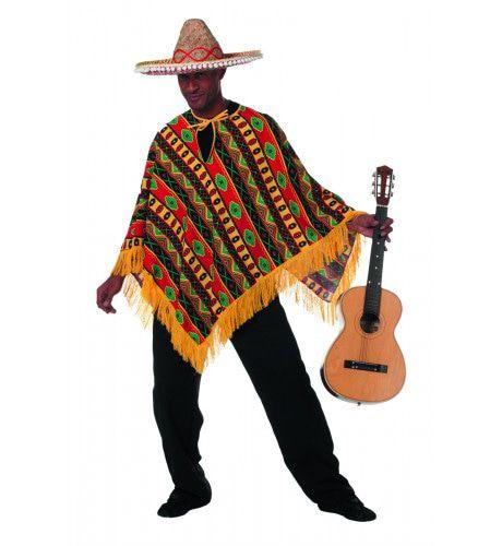 Mexicaan Poncho Higuitta Man Kostuum