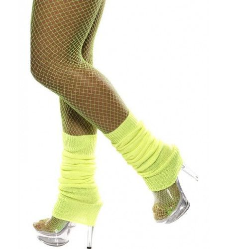 Legwarmers Neon Geel Vrouw