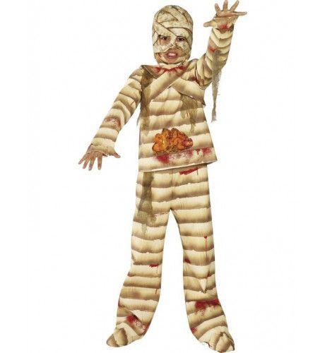 Stoere Mummie Halloween Kind Kostuum Jongen