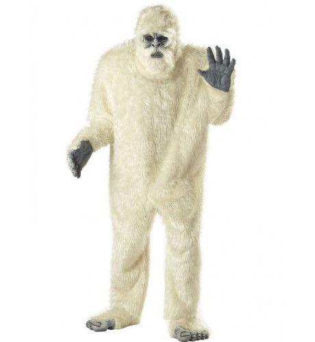 Verschrikkelijke Sneeuwman Man Kostuum