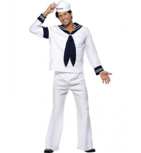 Officieel Village People Marine Man Kostuum