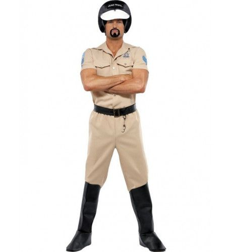 Officieel Village People Motorcycle Cop Man Kostuum