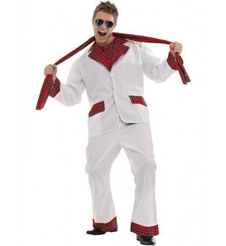 Jaren 70 Glam Rocker Man Kostuum