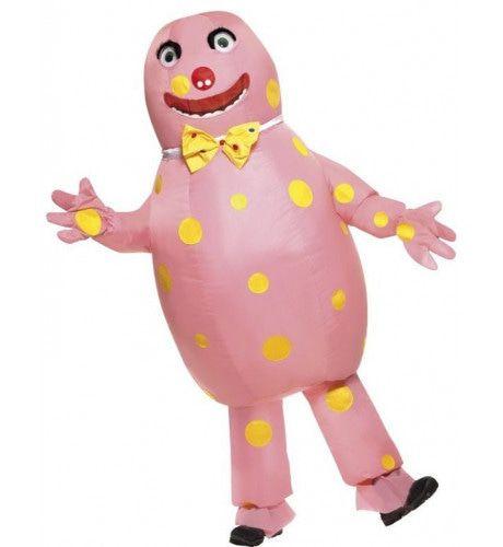 Opblaasbaar Mr Blobby Kostuum