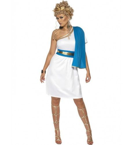 Romeinse Schoonheid Vrouw Kostuum