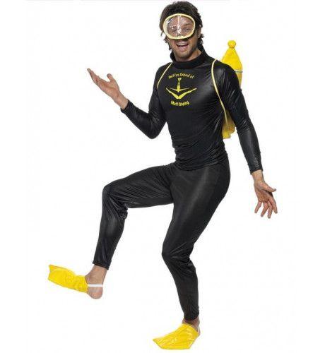 Scuba Muff Diver Volwassen Kostuum