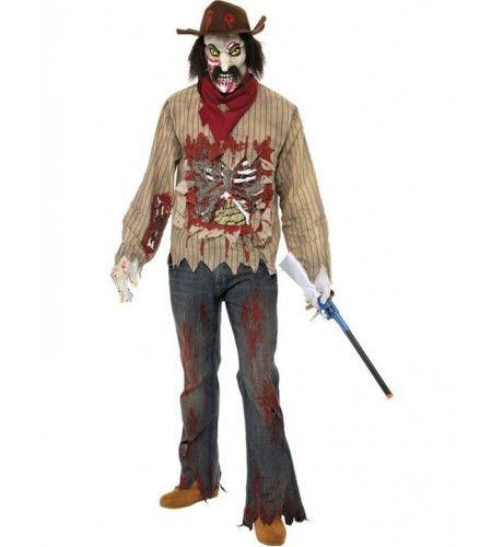 Zombie Cowboy Man Kostuum