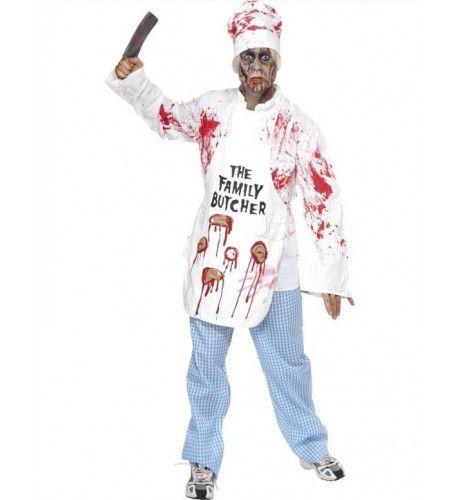 Dodelijke Chefkok Man Kostuum