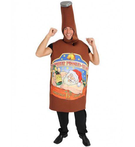 Bierfles Kostuum Man