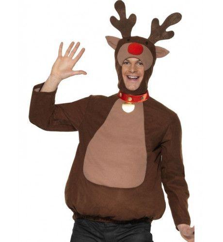 Rudolph The Red Nosed Reindeer Man Kostuum