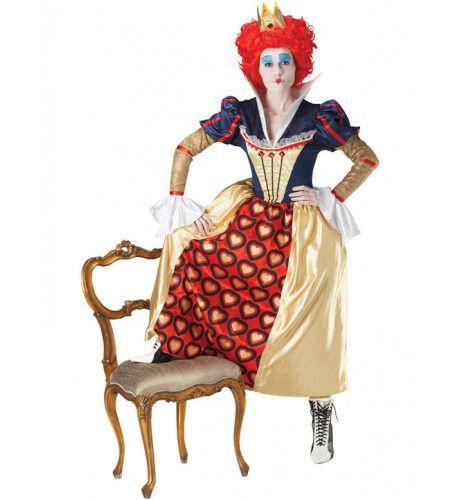 Disney Rode Koningin Vrouw Kostuum