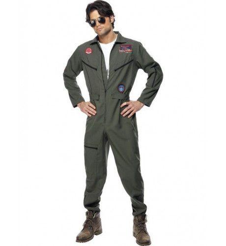 Top Gun Jumpsuit Man Kostuum