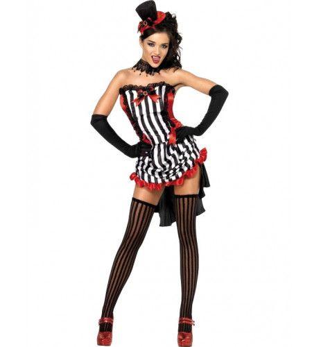 Fever Mevrouw Vampier Halloween Vrouw Kostuum