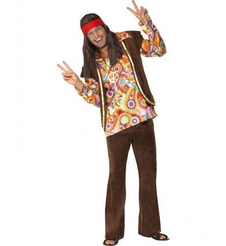 60s Hippie Man Kostuum