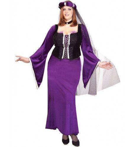 Renaissance Dame Vrouw Kostuum