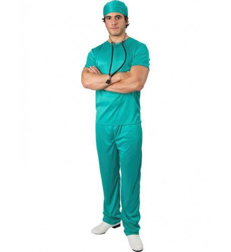 Chirurg Operatiekamer Man Kostuum