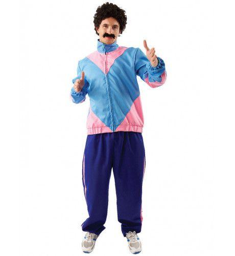 Kamper Kostuum Pruik En Snor (New Kids Turbo) Man