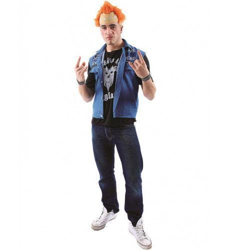 Punk Man Kostuum