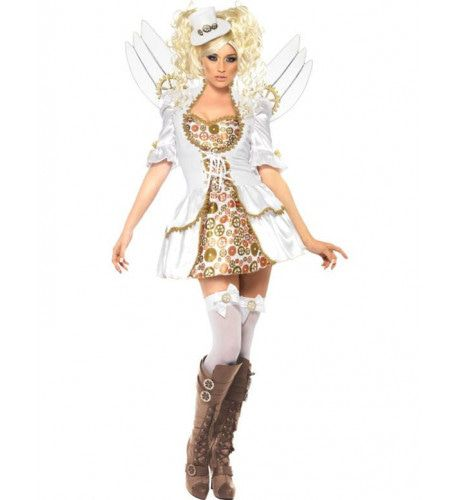 Clockwork Angel Vrouw Kostuum