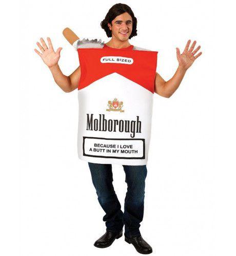 Pakje Sigaretten Kostuum