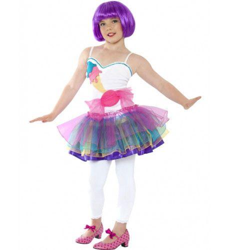 Kind Zoete Ballerina Kostuum Meisje