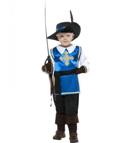 Kind Musketier Kostuum Jongen