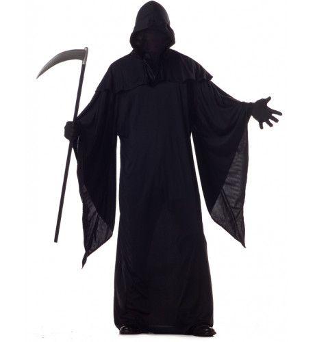 Halloween Dood Met De Zeis Kostuum Man