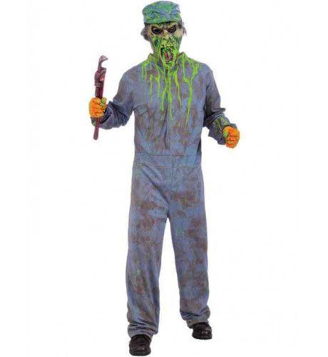 Biohazard Klusjesman Kostuum