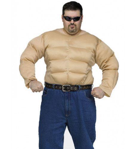 Spieren Kostuum (Grote Maat) Man