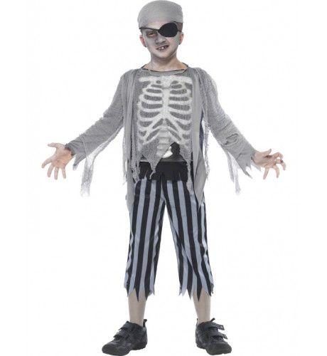 Child Halloween Piraat Kostuum Jongen