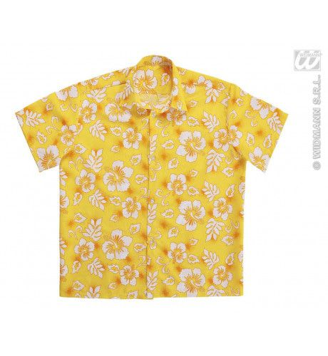 Hawaii Shirt Geel Man