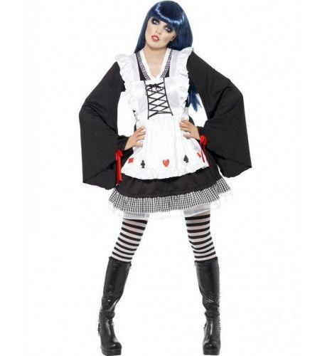 Halloween Alice Vrouw Kostuum