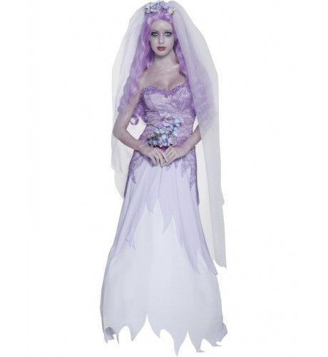 Spookbruid Halloween Vrouw Kostuum