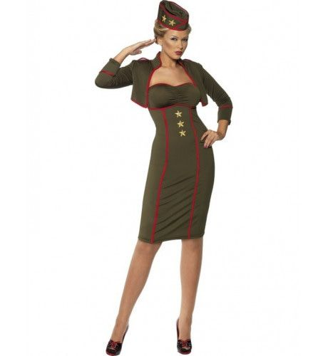 Landmacht Vrouw Kostuum